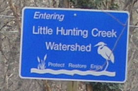 Watershed sign